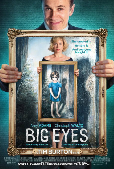 Tim Burton Big Eyes Movie Poster 2014
